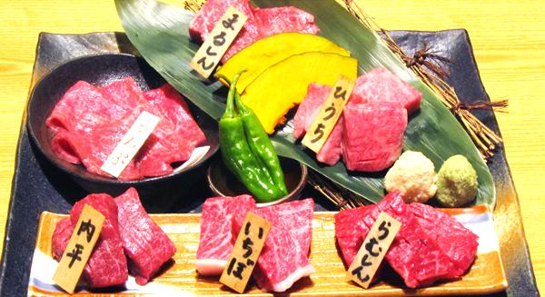 特上モモ肉6種盛セットモモ6種セットのイチボ・ヒウチ・ラムシン・マルシン・内ヒラ・ランプ